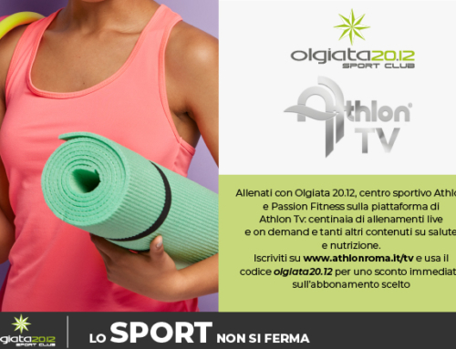 News: Collaborazione Athlon Tv & Olgiata 20.12